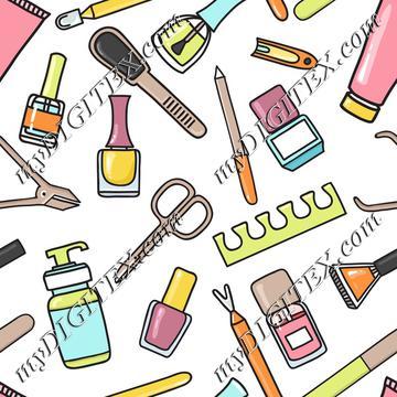 Manicure and nail art
