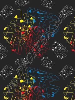 Mondrian 2 - Black