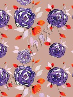 Purple Rossy - Pastel