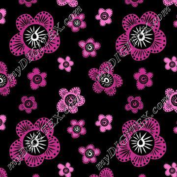 Marakesh - Pink - Black