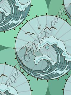 Tsunami Parasol