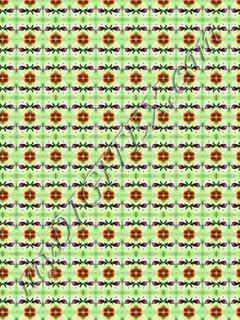 Flowert 2 x 1.5m repeat 7 x 4.5cm