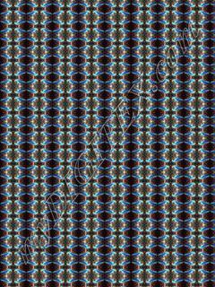 Blue Macaw pattern 2 x 1.5m image 7 x4.5 cm