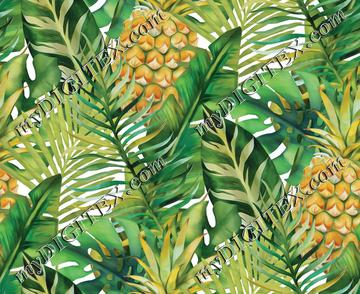 Tropical Vegetation - Pineapple - Green