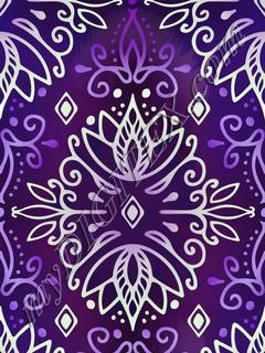 Lotus Deco - Purple Pale