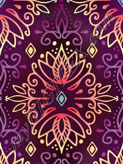 Lotus Deco - Purple Warm
