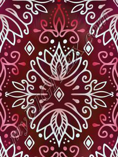 Lotus Deco - Ruby Pale