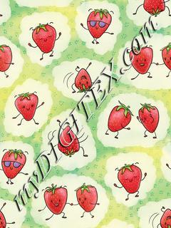 Strawberry Boogie - Green