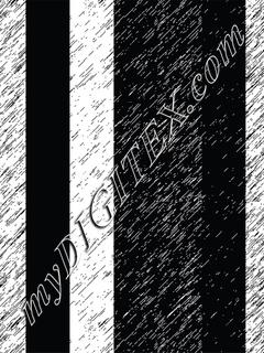 Geo-Bold Stripes black&white