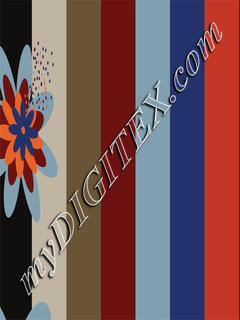 Geo-Stripe floral