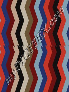 Geo-Stripe zigzag