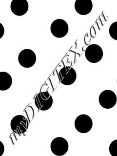 Polka Dots - black