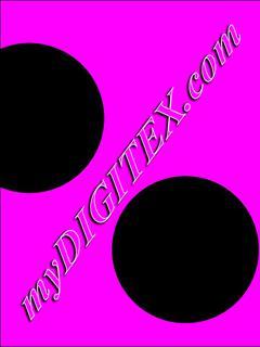 polka dots black:pink