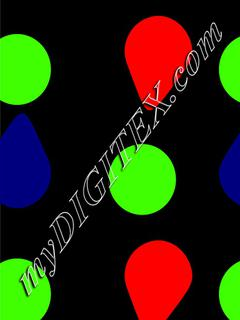 Polka dots multi-color