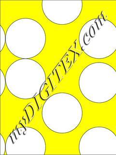 Polka dots white