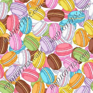 Macarons (on white)