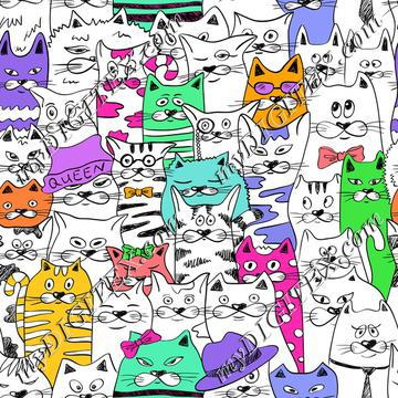 Funky Cats