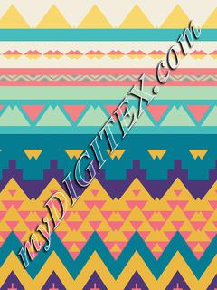 Pastel tribal design