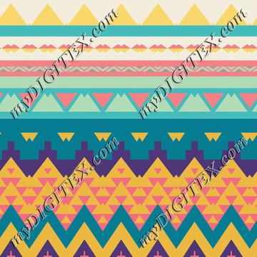 Pastel tribal design