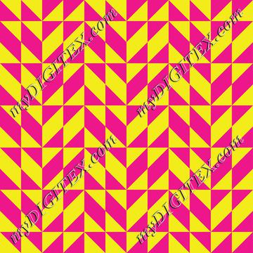 Pink and yellow shapes pattern