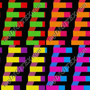 Colorful rectangles and squares