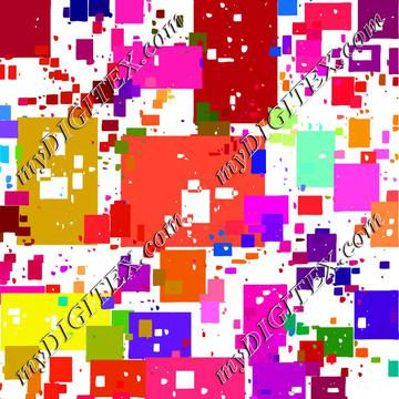 Colorful squares and rectangles