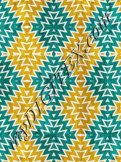 Blue yellow shapes pattern27u4