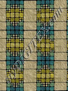 Concrete squares stripes