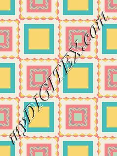 Pastel squares pattern