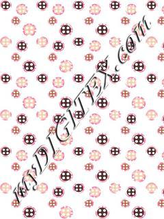 Floral Button 170216