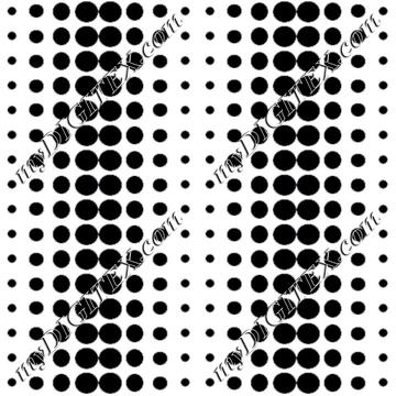 dotted line black