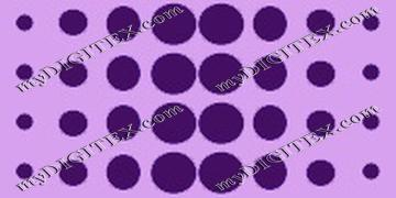 dotted line purple