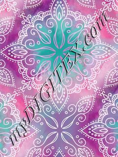 Sweet Summer - Magenta Mandala