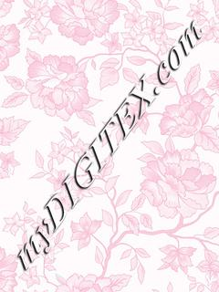 Pink Rose Toile