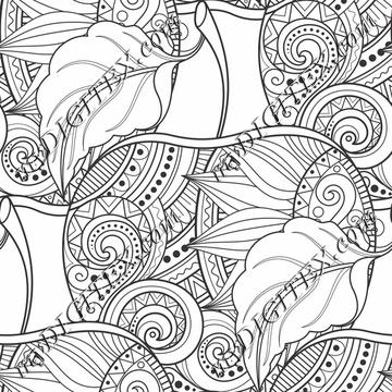 Coloring Swirls