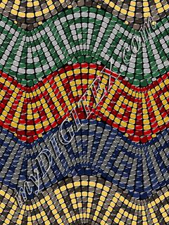 Magical Mosaic Waves 2