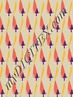 chrismas trees pattern 161002
