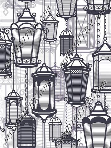 Greyscale Lanterns