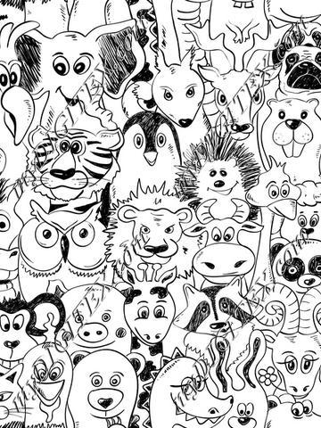 Wallpaper Zoo (dreamstime_66924197)