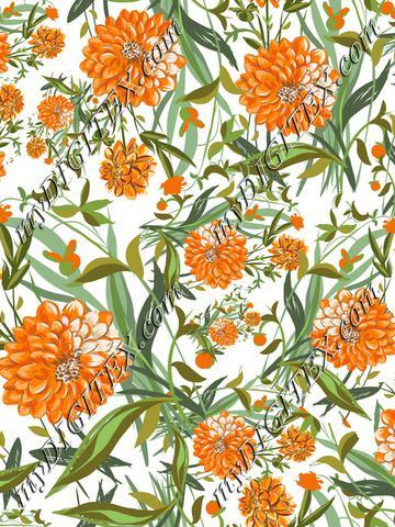 OrangeFlowerRepeat1