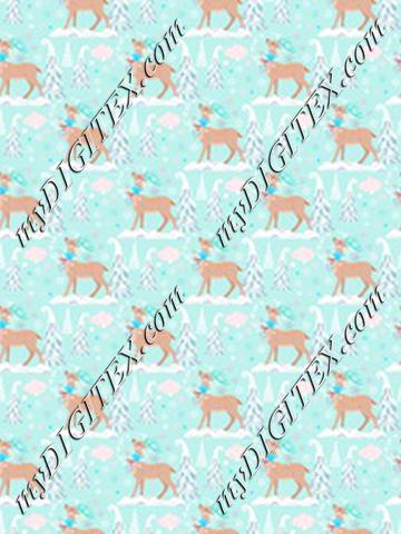 WW Reindeer Blue