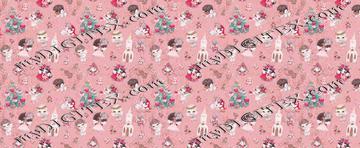 Holly Jolly Pink
