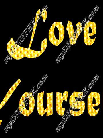 Love yourself Golden
