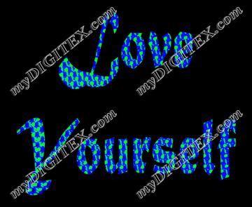 Love yourself-Blueblack
