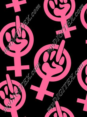 Feminist Finger (pink)