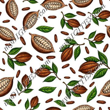 Cocoa kitchen pattern