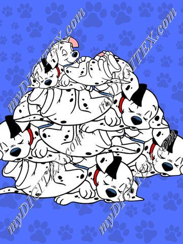 blue dog pile panel