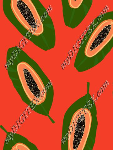 papaya exotic fruit