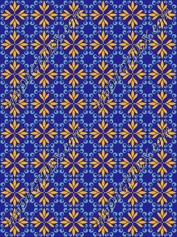 Precise pattern, moroccan tile vintage design