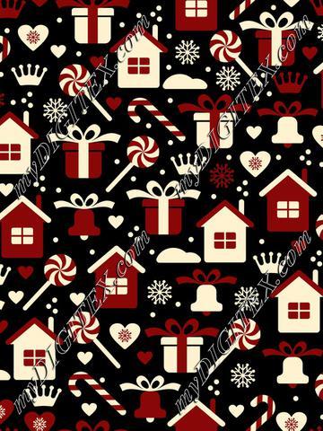Retro Christmas Style (3 colors)